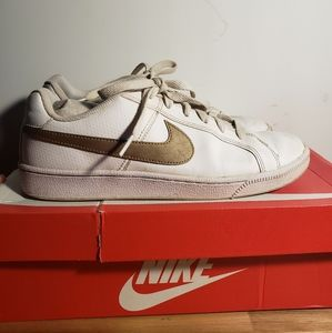 Women's Nike Court Royale 8.5 White/Gold